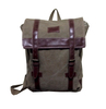 CAMPRO Retro Canvas Day Pack